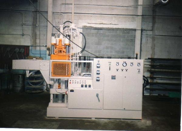 100 ton Stokes automatic molding press after remanufacturing