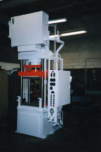150 ton Rodgers compression molding press