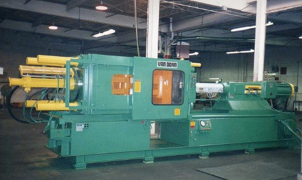 450 ton Van Dorn IMM after remanufacturing